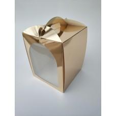 "Коробка ""Пасха золото"", 210*210*250"