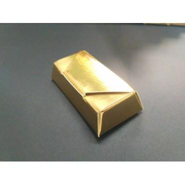 """Коробка """"Конфета"""". Размер 73*35*15. Золото"""