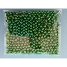 Сахарные шарики серебристо-зеленые, Ø 5 мм, 50 г