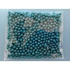 Сахарные шарики серебристо-голубые, Ø 5 мм, 50 г