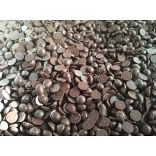 Масса шоколадная чёрная Капли, 200 г