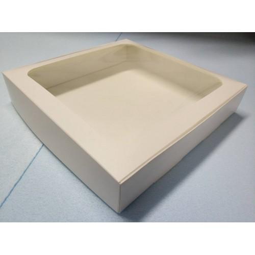 Коробка для макаронс, пряников, текстиля, 300*300*55