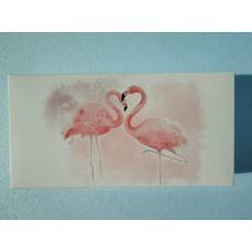 """Коробка подарочная """"Розовый фламинго"""", 300*150*60"""