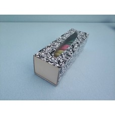"""Коробка для макаронс """"Черная"""", 170*55*50"""