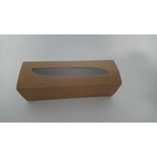 Коробка для макаронс крафт, 170*55*50