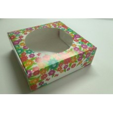 "Коробка ""Цветок-круг"".Размер 150*150*50."