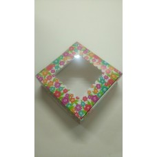 "Коробка ""Цветок-квадрат"".Размер 150*150*50"