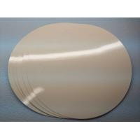 Подложка ламинированная белая, диаметр 60 мм