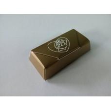 """Коробка для конфет """"Роза в сердце"""""""
