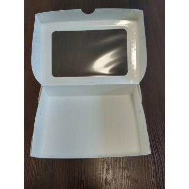 Коробка для эклеров с окошком, 225*150*60