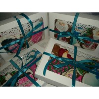 Коробка для печенья, с окошком. Размер 220*150*30