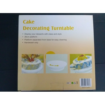 Крутящиеся подставка под торт диаметром 28