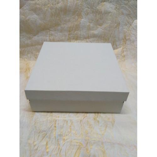 Коробка для торта.пирога.Размер 300*300*110 мм.