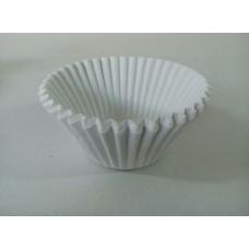 Бумажная форма для капкейков белая, 50 шт.