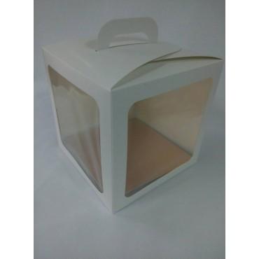 Коробка для пряничного домика, пасхи, торта и т.п., 210*210*210 мм