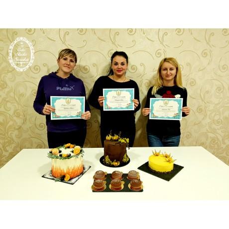 Кондитерские курсы и мастер-классы по различным направлениям декора тортов