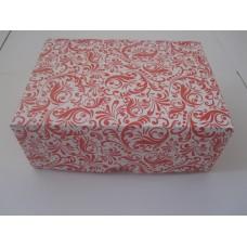 Картонная коробка на 6 капкейков,размер 240*180*90 стоимость 9,8 грн. Мелованный картон 280гр/м. Красная