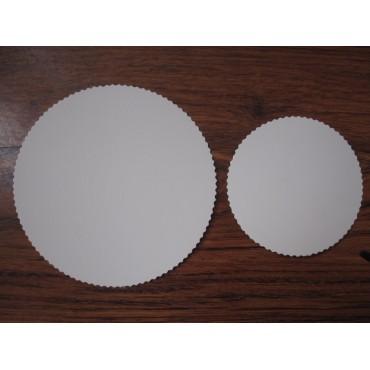 Маленькая подложка диаметром 110 мм.,толщина 0,5 мм