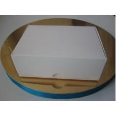Коробка для макаронс,эклеров.Размер 140*100*53 мм.Стоимостью 4,30грн. На 8 шт, без окошка.
