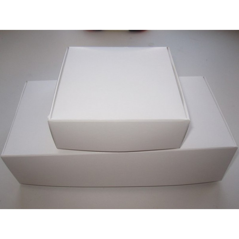Картонная упаковка для пряников, макарон, эклеров, бижутерии. Размер 100*100*35